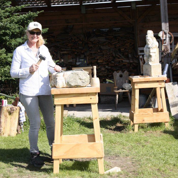 Startseite Beitragsbild Bildhauerei mit Thomas K. Müller