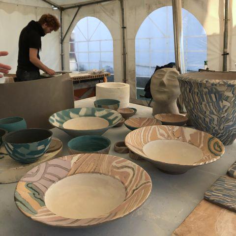 Startseite Beitragsbild Keramik mit Ullrich Schumann