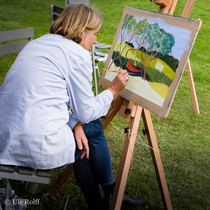 Startseite Beitragsbild Malerei mit Annette Gundermann